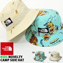 送料無料 子供 ハット THE NORTH FACE ザ・ノースフェイス Kids Novelty Camp Side Hat ノベルティキャンプサイドハッ…