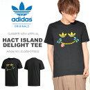 半袖TシャツadidasOriginalsアディダスオリジナルスメンズHACTISLANDDELIGHTTEEロゴTシャツプリントTシャツグラフィックTシャツ2018夏新作