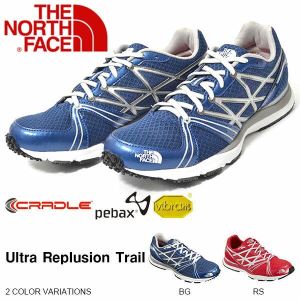 現品限り 得割30 送料無料 トレイル シューズ THE NORTH FACE ザ・ノースフェイス メンズ Ultra Replusion Trail ウルトラ レプルージョン トレイル Vibram Sole アウトドア 靴 【あす楽対応】