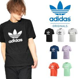 送料無料 半袖Tシャツ adidas Originals アディダス オリジナルス メンズ レディース HERI TREFOIL TEE クルーネック ロゴ プリント シャツ ロゴTシャツ プリントTシャツ EKF76 2020春新色