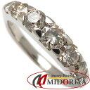 【ポイント5倍!】カシケイ KASHIKEY ネイキッドリング ブラウンダイヤモンド1.00ct K18BG 11号 指輪/097823【中古】