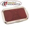 872853276 Gucci GUCCI money clip Gucci sima leather silver plating Bordeaux /041734.  Used - Good