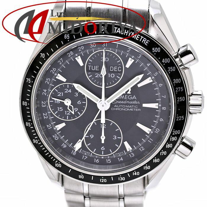 OMEGA オメガ スピードマスター クロノグラフ 3220.50 トリプルカレンダー 自動巻き メンズ /35844【中古】 腕時計