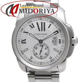 【ポイント10倍】カルティエ Cartier カリブル ドゥ カルティエ W7100015 メンズ 自動巻き /35997 【中古】 腕時計