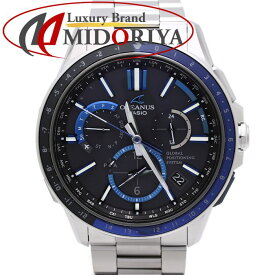 d2e0493424 中古 CASIO カシオ オシアナス OCW-G1100-1AJF チタン GPSハイブリッド 電波ソーラー メンズ /36073 【中古】 腕時計