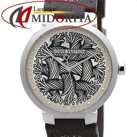 LOUIS VUITTON ルイヴィトン モノグラム ロープ タンブール メンズ クリストファーネメス 伊勢丹59本限定 Q1D06 /37394 【未使用】 腕時計