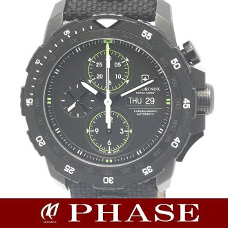 ヴィクトリノックスアルピナッハ 241527 mechanical chronograph men self-winding watch /31370 watch VICTORINOX