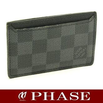 Louis Vuitton N62666 Graphite Neo Porte Cartes Card Holder/44562