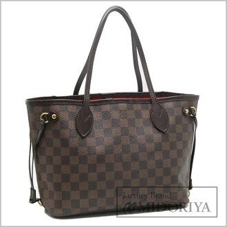 Louis Vuitton Vuitton Totes Damier neverfull PM N51109/18597 even Brown Louis-Vuitton LOUIS VUITTON vitombagg