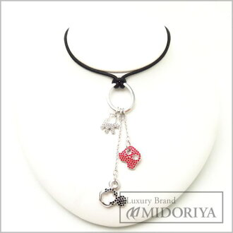 SWAROVSKI Silver Plated Mickey Mouse Disney Collaboration Pendant Necklace/95948