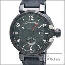 ルイヴィトン タンブール GMT エヴォリューション インブラック Q11590 メンズ/34213 【中古】 腕時計 LOUIS VUITTON ルイビトン
