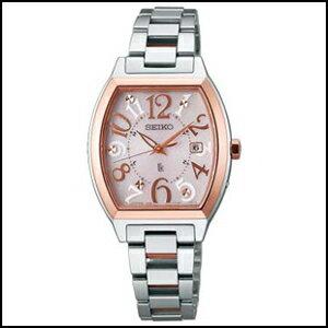 SEIKO セイコー ルキア ソーラー 電波 時計 レディース 腕時計 SSVW048