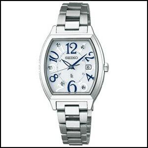 SEIKO セイコー ルキア ソーラー 電波 時計 レディース 腕時計 SSVW091
