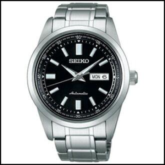 有SEIKO精工机械自动卷手卷的钟表人手表SARV003