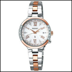 新品 即日発送 SEIKO セイコー ルキア プレミアム サマー 限定モデル ソーラー 電波 時計 レディース 腕時計 SSVV030