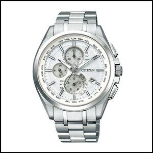 新品 即日発送 シチズン アテッサ エコドライブ ソーラー 電波 時計 メンズ 腕時計 AT8040-57A