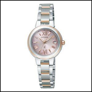 シチズン クロスシー ソーラー 電波 時計 レディース 腕時計 XCB38-9133