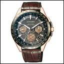 CITIZEN シチズン アテッサ F900 ダブル ダイレクト フライト ソーラー 電波 時計 メンズ 腕時計 CC9016-01E