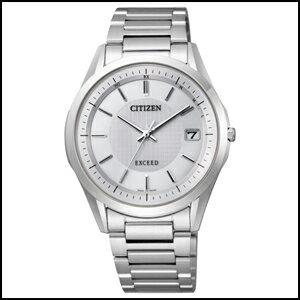 シチズン エクシード ソーラー 電波 時計 メンズ 腕時計 AS7090-51A