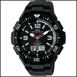 【コスパ高め】新品 即日発送 CITIZEN シチズン Q&Q ソーラーメイト ソーラー 電波 時計 メンズ 腕時計 MD06-305