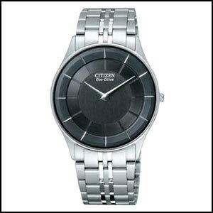 CITIZEN シチズン ステレット エコドライブ ソーラー 時計 メンズ 腕時計 AR3010-65E
