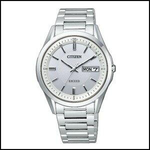 シチズン エクシード ソーラー 電波 時計 メンズ 腕時計 AT6030-60A