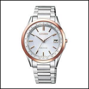 シチズン エクシード ダイレクトフライト ソーラー 電波 時計 メンズ 腕時計 CB1114-52A