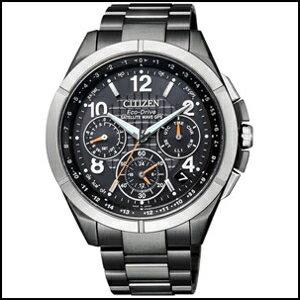 シチズン アテッサ F900 30周年 記念 限定モデル Black Titanium Series GPS ソーラー 電波 メンズ 腕時計 CC9075-61E