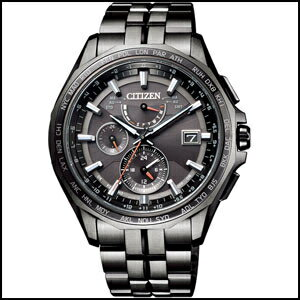 シチズン アテッサ ソーラー 電波 時計 メンズ 腕時計 AT9097-54E