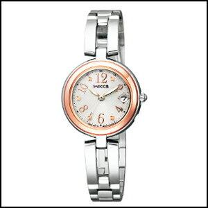 新品 即日発送 シチズン ウィッカ HAPPY DIARY ソーラー 電波 時計 レディース 腕時計 KL0-219-11