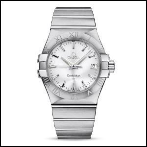オメガ コンステレーション ライン クオーツ 時計 メンズ 腕時計 123.10.35.60.02.001