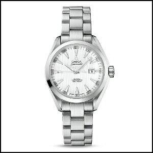 オメガ シーマスターアクアテラ 自動巻き 時計 レディース 腕時計 231.10.34.20.04.001