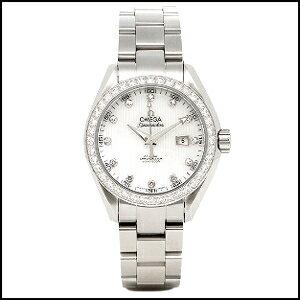 オメガ シーマスター アクアテラ ダイヤ 自動巻き 時計 レディース 腕時計 231.15.34.20.55.001