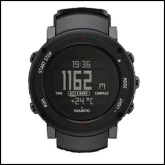 新貨即日發送SUUNTO suntokoadipuburakkumenzuredisu手錶SS018734000