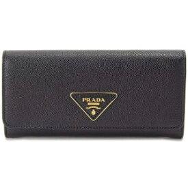 【あす楽対応】プラダ レディース 長財布 ブラック 1MH132 3B1V F0002 NERO