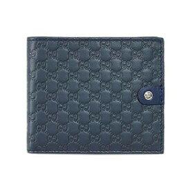 【あす楽対応】グッチ Gボタン マイクログッチッシマ メンズ 二つ折り 札入れ 財布 365477 BMJ2N 4179