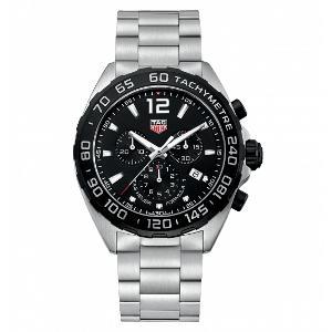 【お得な期間限定クーポン対象商品】タグホイヤー フォーミュラ1 クロノグラフ クォーツ 時計 メンズ 腕時計 CAZ1010.BA0842