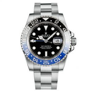 新品 即日発送可 ロレックス GMTマスターII ブラックラッカー 自動巻き 時計 メンズ 腕時計 116710BLNR