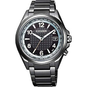 新品 即日発送 シチズン アテッサ ダイレクトフライト 30周年 記念 限定モデル Black Titanium Series ソーラー 電波 時計 メンズ 腕時計 CB1075-52E