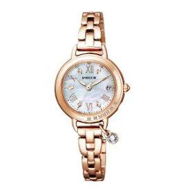 シチズン ウィッカ ブレスライン HAPPY DIARY ソーラー 電波 時計 レディース 腕時計 KL0-863-11