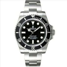 新品 即日発送可 ロレックス サブマリーナ ブラック 自動巻き 時計 メンズ 腕時計 114060