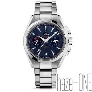 新品 即日発送可 オメガ シーマスター アクアテラ クロノグラフ GMT 自動巻き 時計 メンズ 腕時計 231-10-43-52-03-001