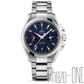 新品 即日発送可 オメガ シーマスター アクアテラ クロノグラフ GMT 自動巻き 時計 メンズ 腕時計 231.10.43.52.03.001