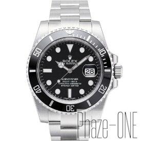 ロレックス サブマリーナ ブラック 自動巻き 時計 メンズ 腕時計 116610LN