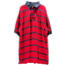 【あす楽対応】 ラルフローレン POLO by Ralph Lauren メンズ XL 半袖 ボーダー ポロシャツ