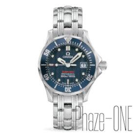 新品 即日発送可 オメガ シーマスター ダイバー 300m防水 クォーツ 時計 レディース 腕時計 2224.80