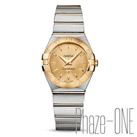 新品 即日発送可 オメガ コンステレーション ブラッシュ クォーツ レディース 腕時計 123.20.27.60.08.001