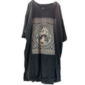 【あす楽対応】 ノーブランド プリント 半袖 Tシャツ メンズ L