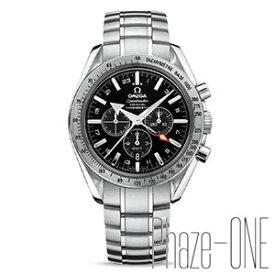 オメガ スピードマスター ブロードアロー クロノグラフ GMT 自動巻き メンズ 腕時計 3581.50