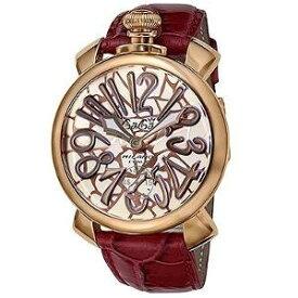 ガガミラノ マヌアーレ48MM 手巻き 時計 メンズ 腕時計 5011.01S MOSAICO
